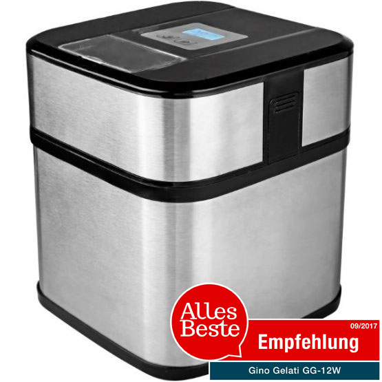 eismaschine edelstahl digital mit timer frozen joghurt maschine ebay. Black Bedroom Furniture Sets. Home Design Ideas